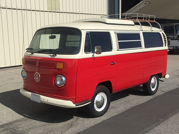 1968 VW Red Camper